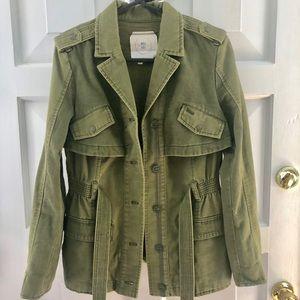Anthropologie Army Green Utility Jacket 🌿🛶💚